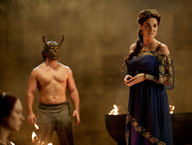 Sarah Parish as Pasiphae in Atlantis: 'Touched By The Gods - Part 2'