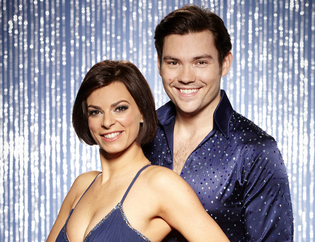 Dancing On Ice All-Stars: Sam Attwater with pro skater partner Vicky Ogden