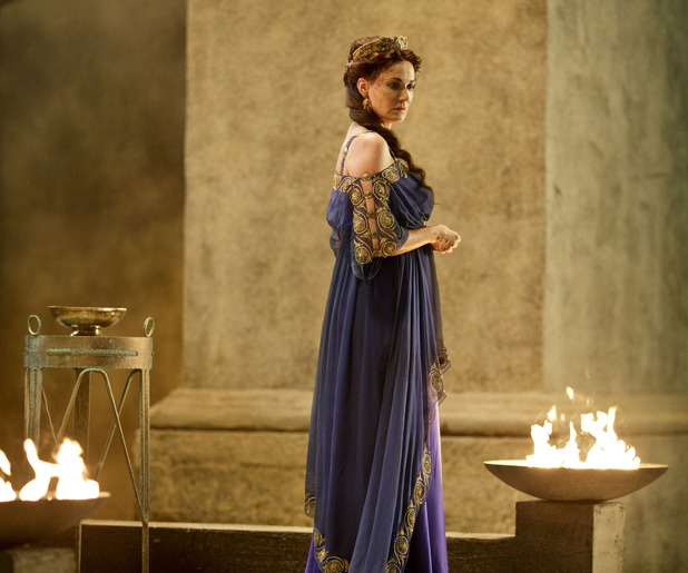Sarah Parish as Pasiphae in Atlantis: 'Touched By The Gods - Part 1'
