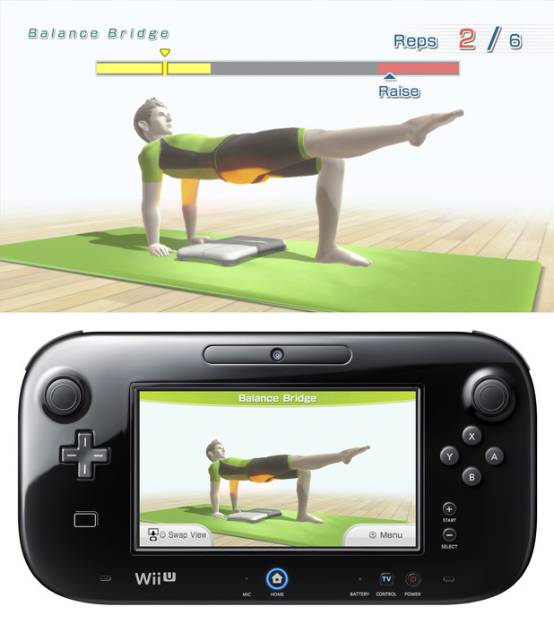 Wii Fit U screenshots