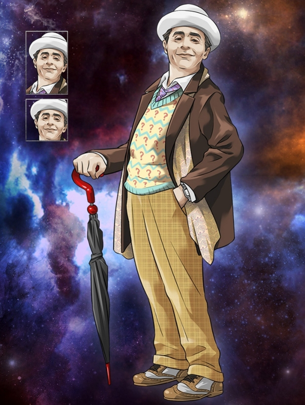 Sylvester McCoy in Doctor Who Legacy