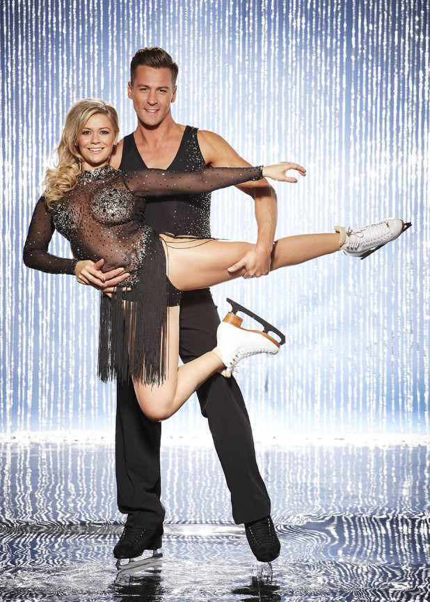 Dancing On Ice All-Stars: Suzanne Shaw with pro skater partner Matt Evers