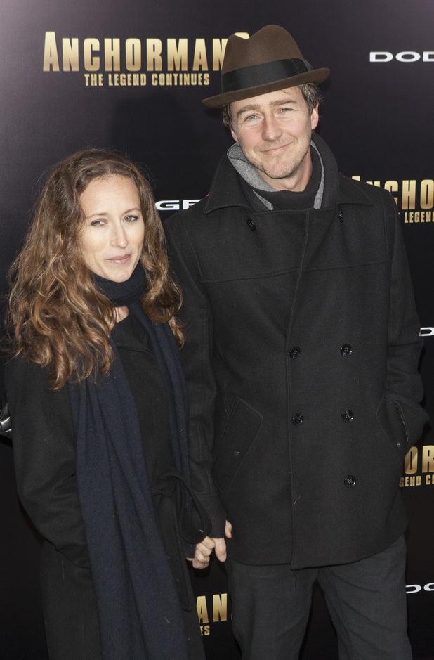 New York premiere of 'Anchorman 2: The Legend Continues' at Beacon TheatreShauna Robertson, Edward Norton