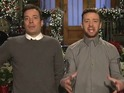 Jimmy Fallon and Justin Timberlake preview final Saturday Night Live of 2013.