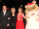Comedian is joined by guests ranging from Sheridan Smith to a giant hamster.