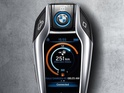 The futuristic car fob comes with its own high-resolution LCD screen on board.