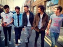 The boyband mention the taxi firm in their latest track 'Midnight Memories'.