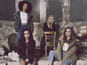 The girl group reveal behind-the-scenes shots from their new video.