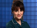 Louise Delamere chats about her final Holby City episode.