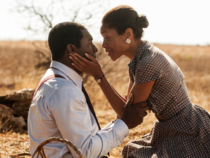 Idris Elba, Naomie Harris in Mandela: Long Walk to Freedom
