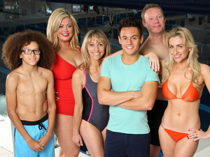 Splash 2014 contestants: Perri Kiely, Gemma Collins, Michaela Strachan, Tom Daly, Ricky Groves and Gemma Merna