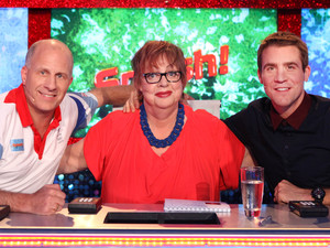 Splash 2014 judges: Andy Banks, Jo Brand and Leon Taylor