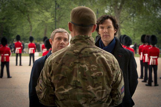 Sherlock - series 3: John Watson and Sherlock
