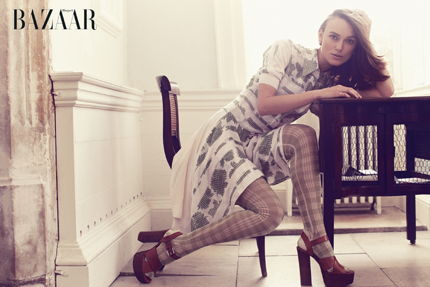 Keira Knightley for Harper's Bazaar