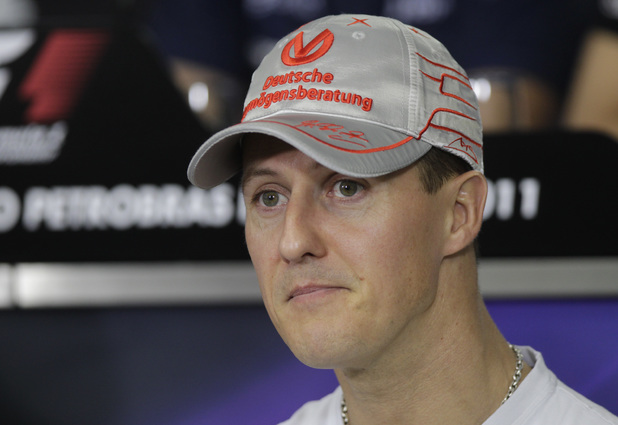Mercedes Grand Prix driver Michael Schumacher