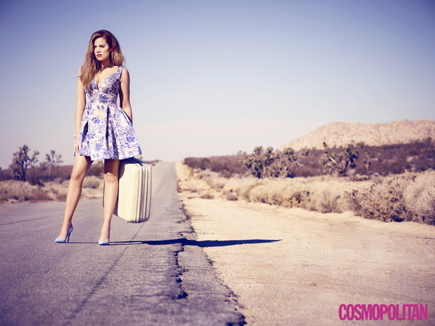 Khloe Kardashian for Cosmopolitan
