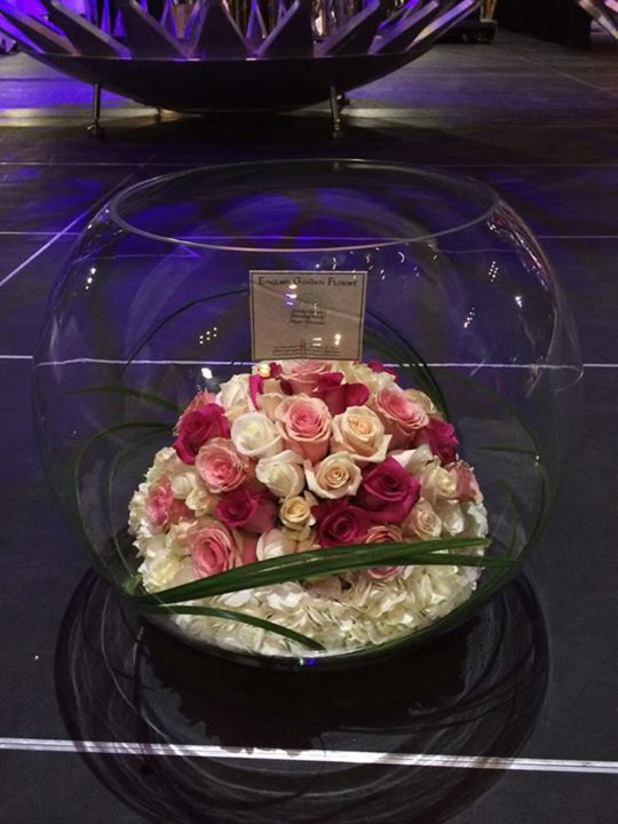 Celine Dion sends Britney Spears flowers