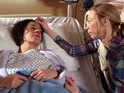 Ruby has to be rushed to hospital in tonight's episode.