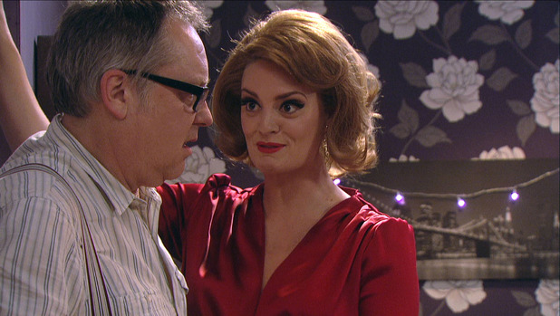 Vic Reeves and Morgana Robinson in House of Fools
