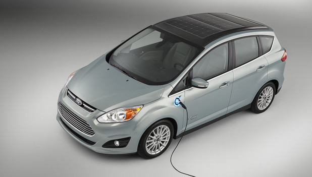 Ford's C-Max Solar Energi solar-powered car