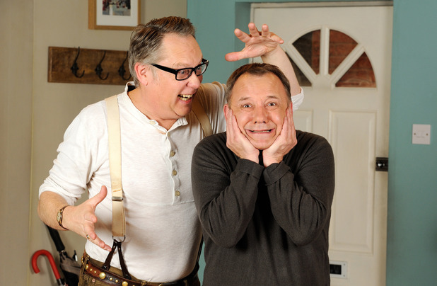 Vic Reeves and Bob Mortimer in House of Fools