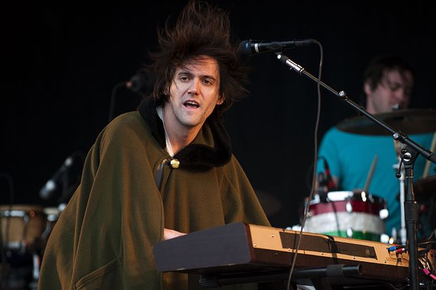 Conor Oberst of Bright Eyes at Glastonbury Festival
