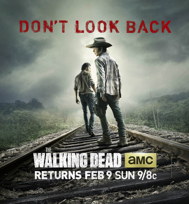 The Walking Dead season four poster