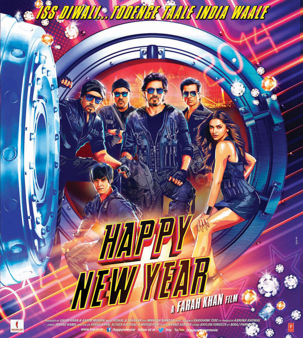 First poster for Happy New Year
