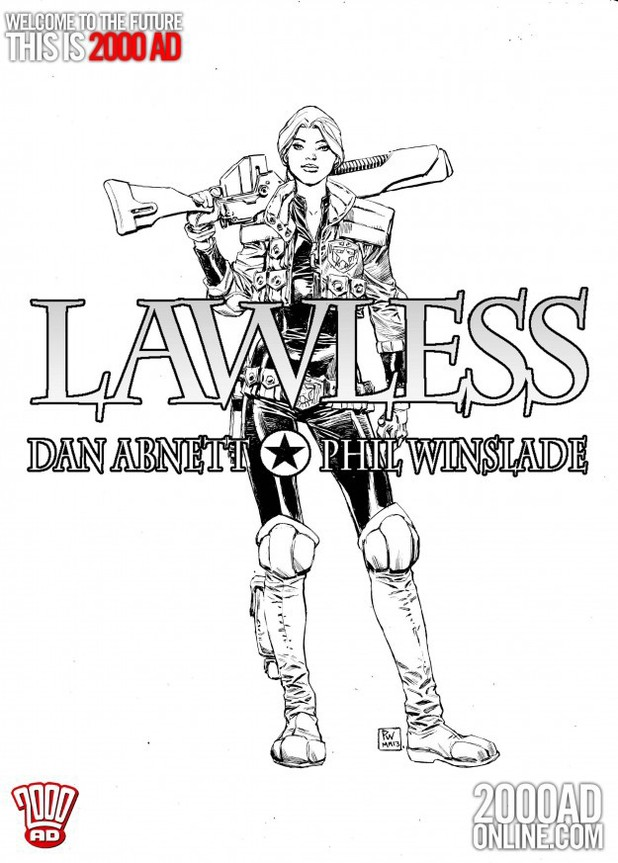 2000 AD teaser: Lawless