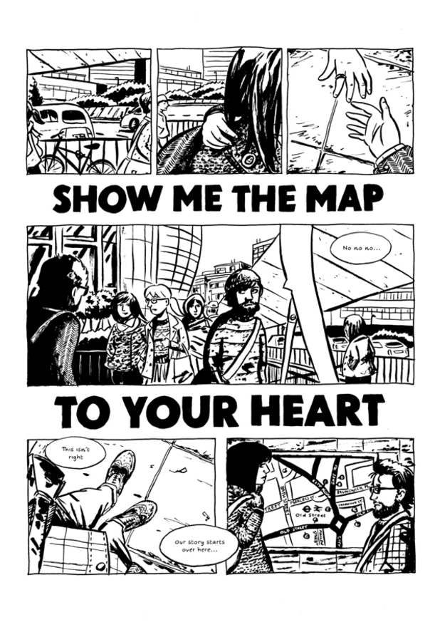 Show Me the Map to Your Heart & Other Stories...