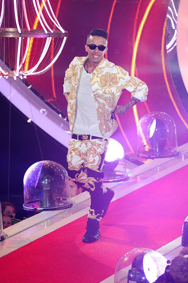 Previous Next Dappy arrives at the Celebrity Big Brother House