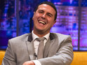 Paddy McGuinness also discusses his Take Me Out catchphrase.