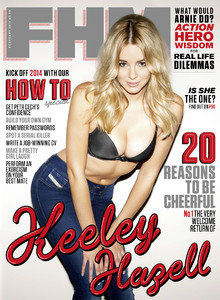 Keeley Hazell fronts FHM