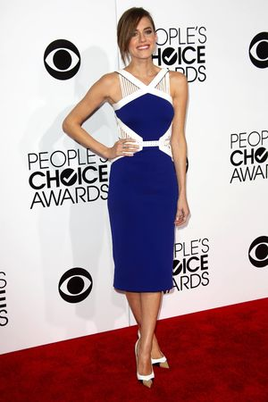 40th People's Choice Awards, Arrivals, Los Angeles, America - 08 Jan 2014 Allison Williams