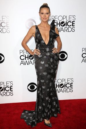 40th People's Choice Awards, Arrivals, Los Angeles, America - 08 Jan 2014 Heidi Klum