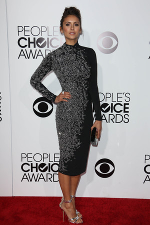 40th People's Choice Awards, Arrivals, Los Angeles, America - 08 Jan 2014 Nina Dobrev