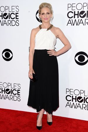 40th People's Choice Awards, Arrivals, Los Angeles, America - 08 Jan 2014 Sarah Michelle Gellar