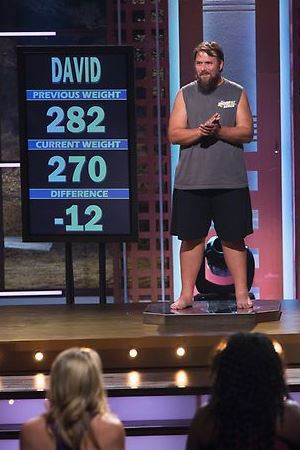 David's weigh-in on The Biggest Loser episode 11