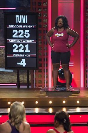 Tumi's weigh-in on The Biggest Loser episode 11