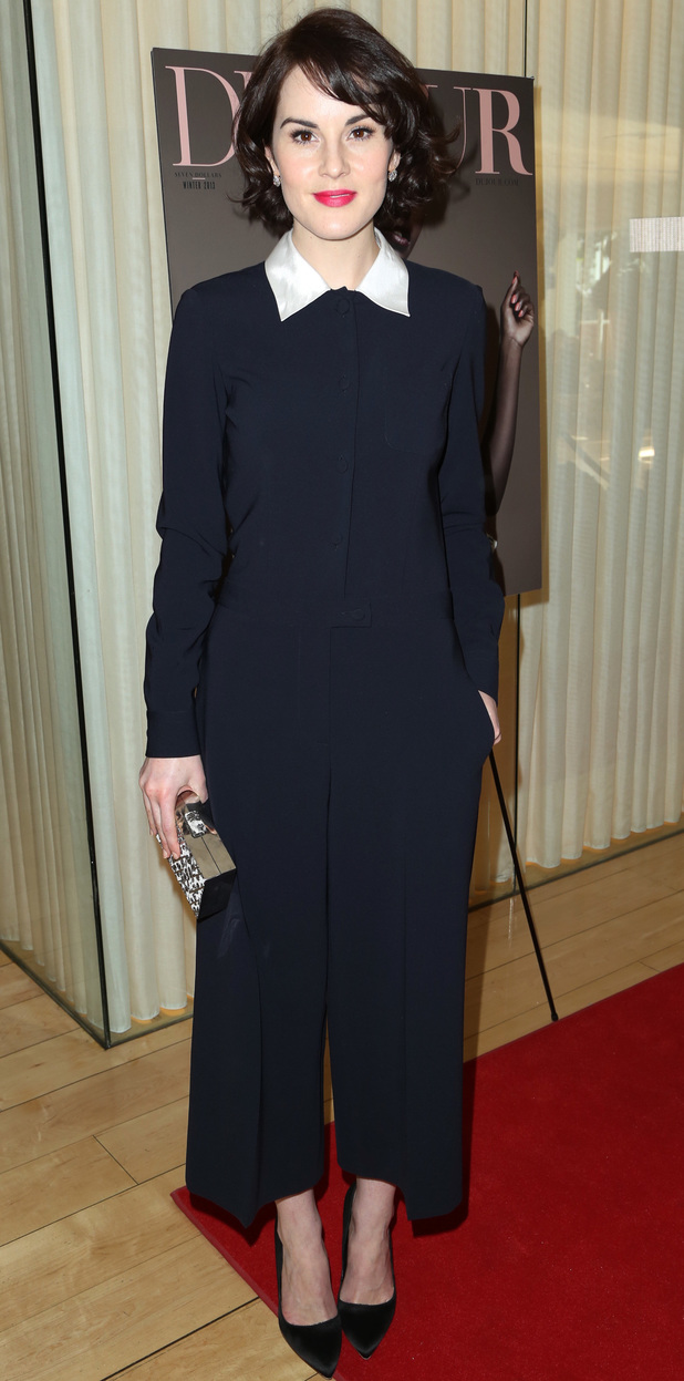 Michelle Dockery DuJour magazine's Great Performance Issue Pre-Golden Globes Party - Arrivals