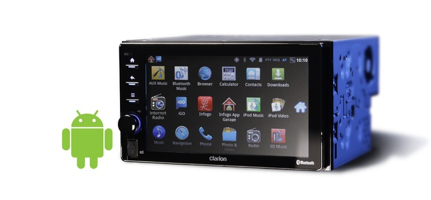 Clarion's AX1 Android-based in-car system