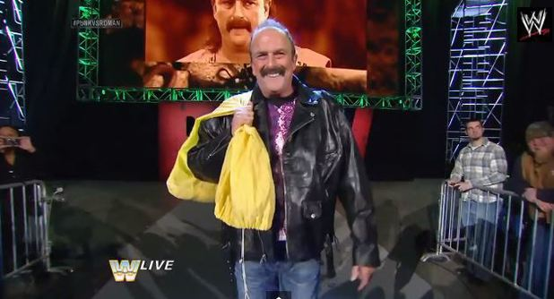 Jake 'The Snake' Roberts returns to WWE
