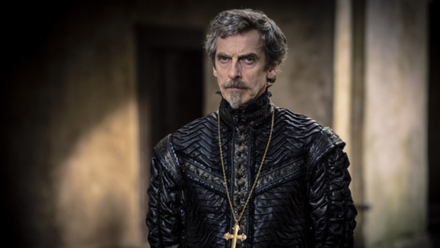 Peter Capaldi in 'The Musketeers'.