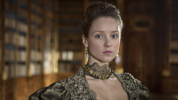 Alexandra Dowling in 'The Musketeers'.