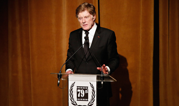 Robert Redford at the Film Critics Awards