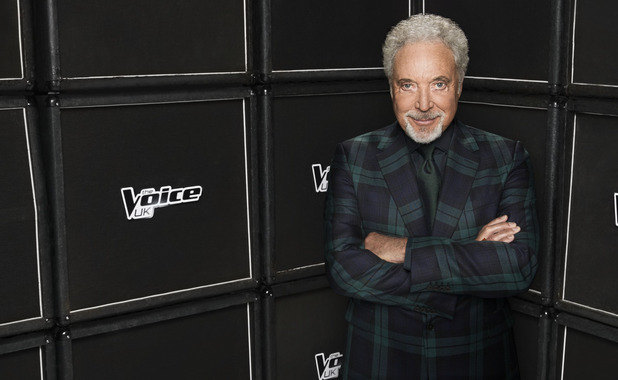 The Voice UK series 3 judge Tom Jones