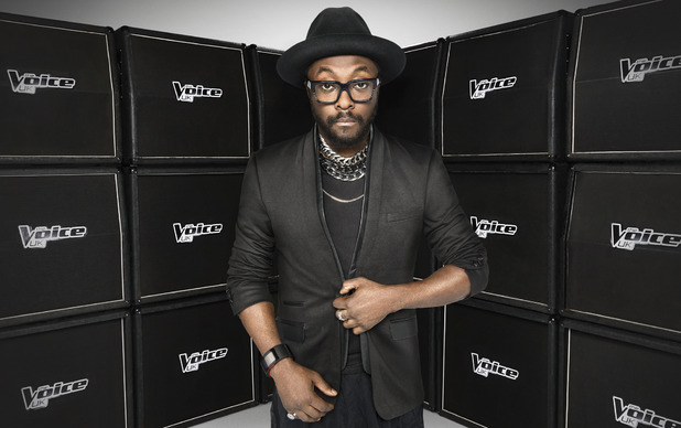 The Voice UK series 3 judge will.i.am