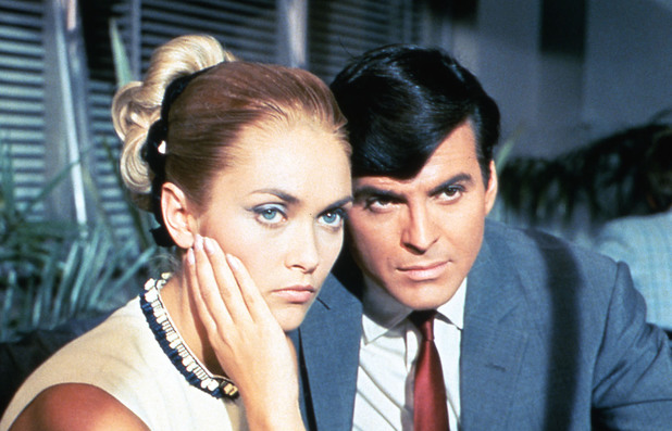 Alexandra Bastedo and Stuart Damon in The Champions