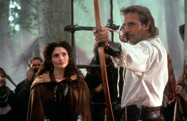 Film and Television Robin Hood: Prince Of Thieves, Mary Elizabeth Mastrantonio, Kevin Costner 1991