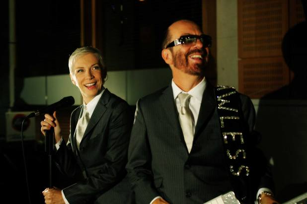 Eurythmics' Annie Lennox and Dave Stewart